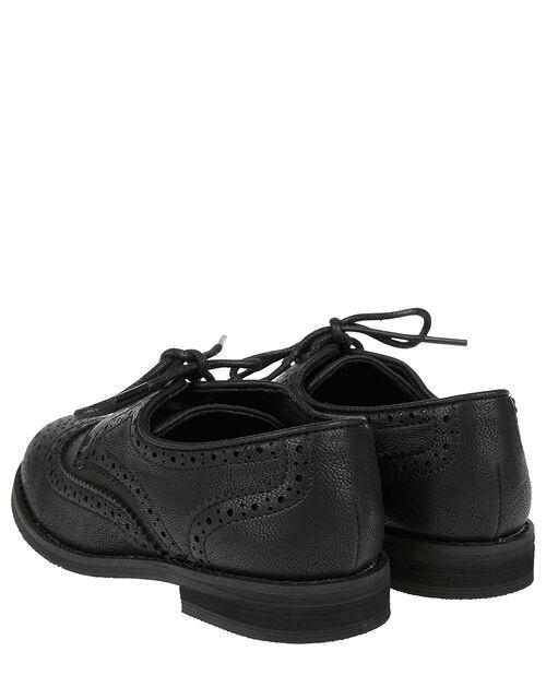 Brogue Shoes, Black (BLACK), large