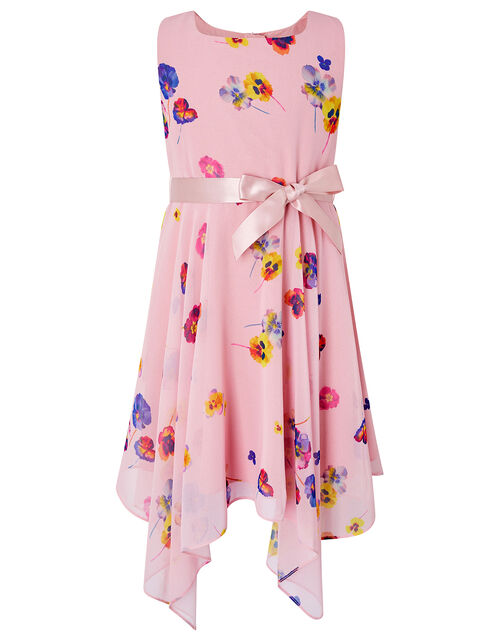 Helen Dealtry Nicamille Dress in Recycled Fabric, Pink (PINK), large