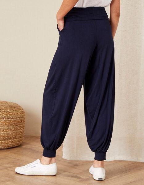 LOUNGE Heidi Jersey Hareem Trousers  Blue, Blue (NAVY), large
