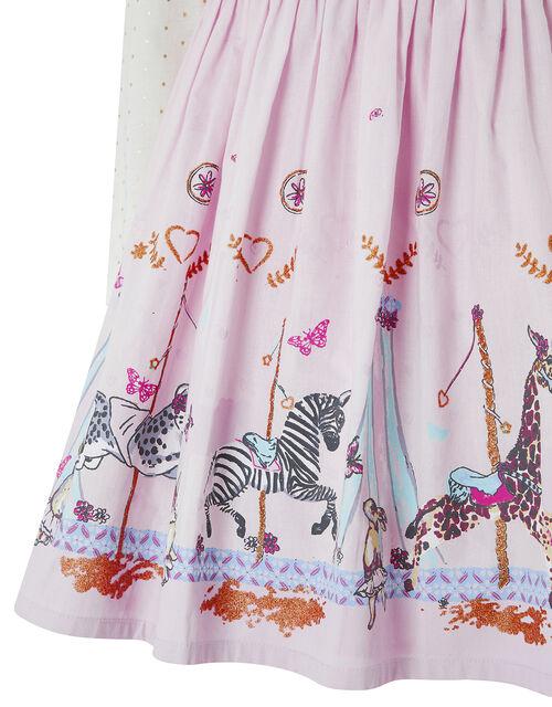 Baby Charissa Long Sleeved Smock Dress, Pink (PINK), large