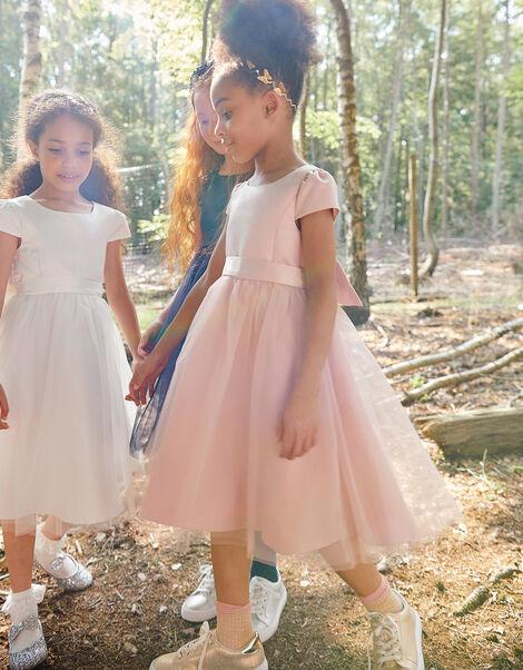 Tulle Bridesmaid Dress Pink, Pink (PINK), large