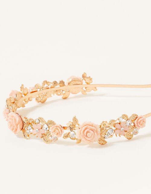 Sparkle Rose Headband, , large