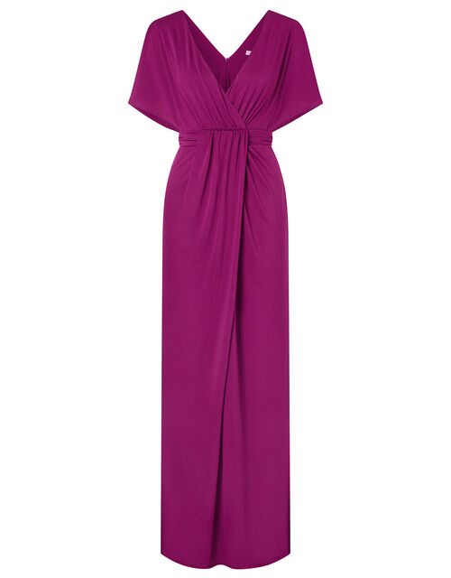 Jessica Slinky Jersey Maxi Dress, Red (BERRY), large