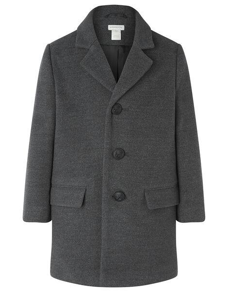 Long Top Coat Grey, Grey (GREY), large