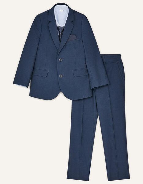 Adam Five-Piece Suit Set Blue, Blue (NAVY), large