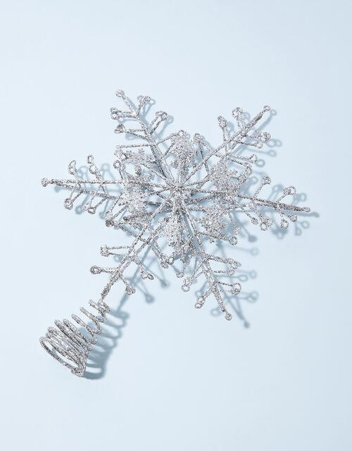 Snowflake Christmas Tree Topper, , large