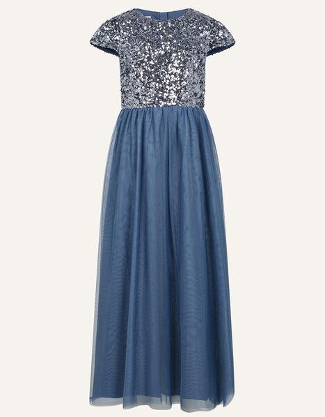 Truth Sequin Prom Dress  Grey, Grey (GREY), large