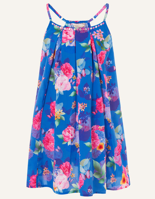 Whitney Floral Print Dress, Multi (MULTI), large