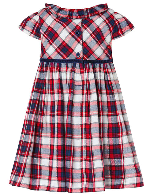 Baby Tartan Dress and Tights Set, Red (RED), large