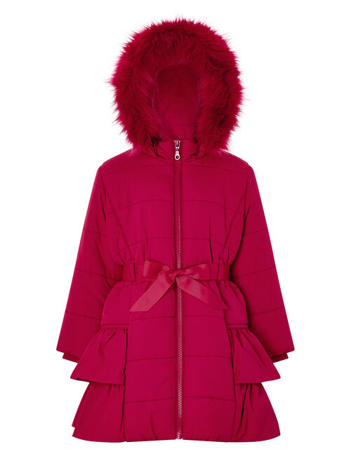 Ruby Padded Coat, Red (RED), large