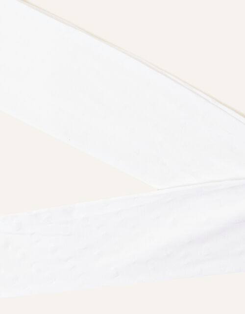 Glitter Heart Tights, White (WHITE), large