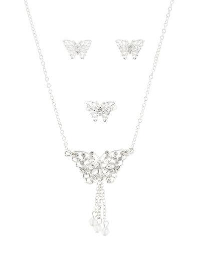 Carmen Butterfly Jewellery Set , , large