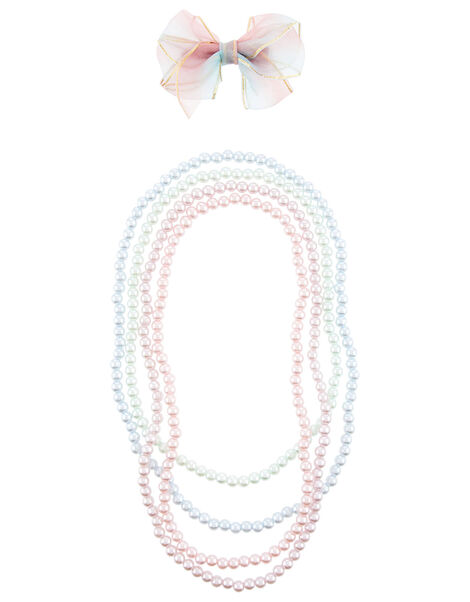 Pearly Rainbow Accessory Set, , large