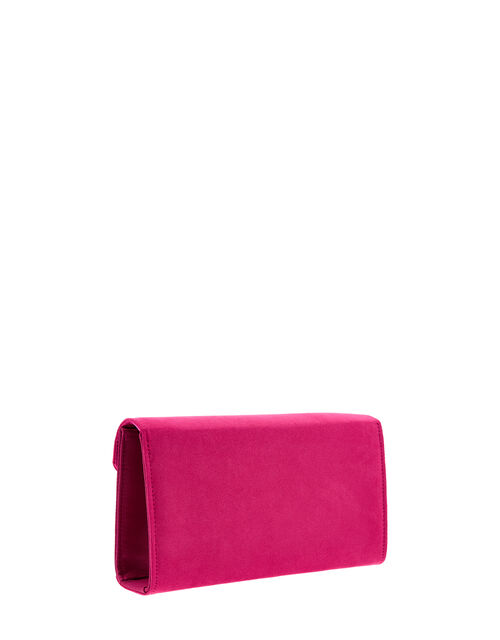 Misha Occasion Clutch Bag, Pink (FUCHSIA), large