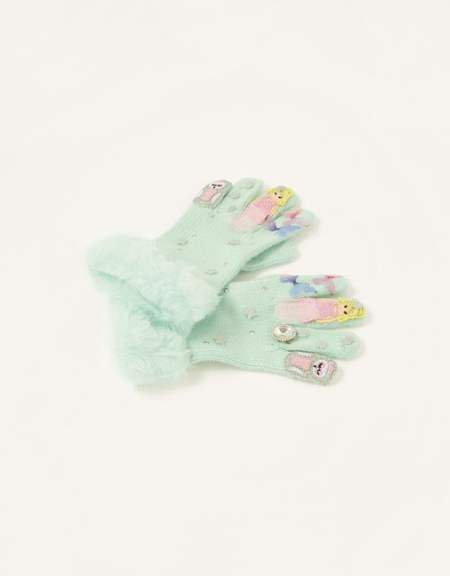 Forest Fairy Gloves, Green (MINT), large