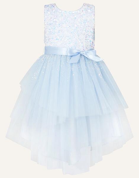 Safire Sequin Dress Blue, Blue (BLUE), large