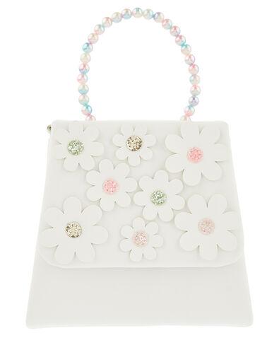 Rainbow Pearl Daisy Bag , , large