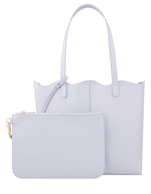 Jessie Scallop Edge Tote Bag, , large