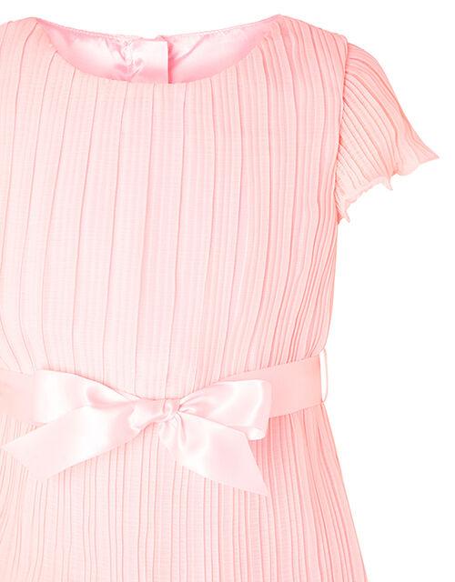 Pale Pink Tiered Chiffon Dress, Pink (PALE PINK), large