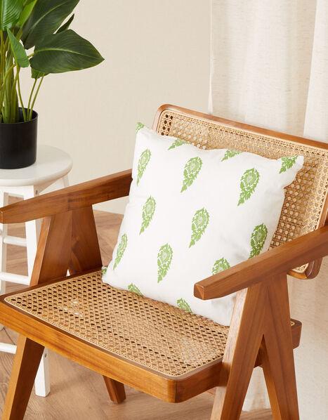 Leaf Print Cushion , , large