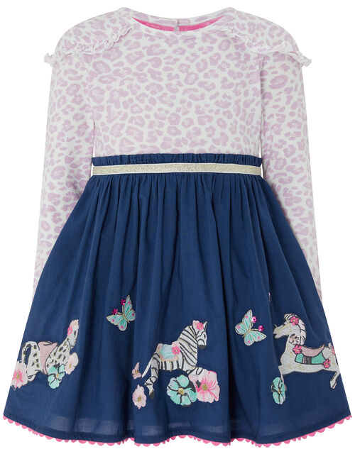 Baby Lila 2-in-1 Dress, Blue (NAVY), large