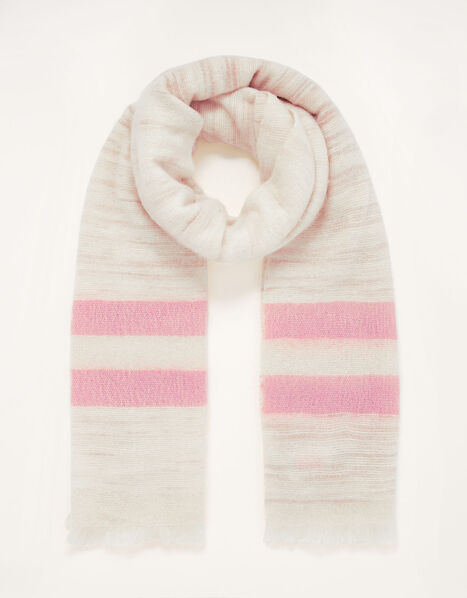 Penny Stripe Blanket Scarf, , large