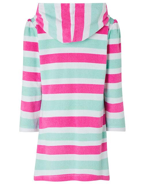 Didi Ice Cream Stripe Towelling Hoody Dress, Multi (MULTI), large