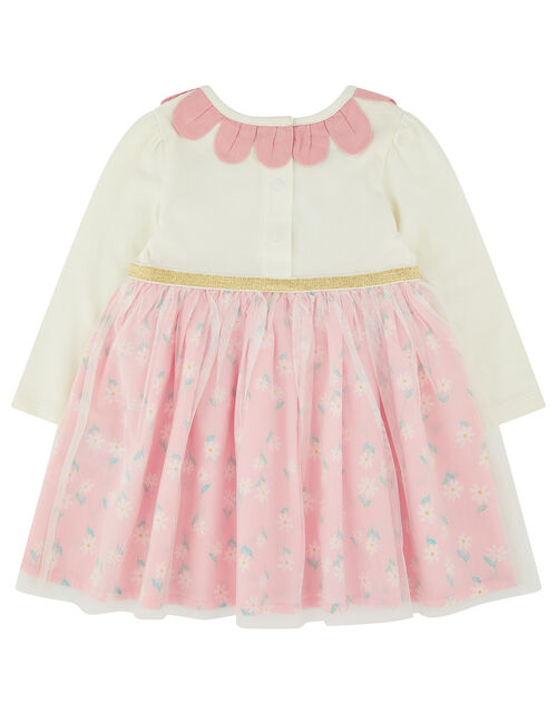 Newborn Baby Dolcy 2-in-1 Dress, Pink (PINK), large
