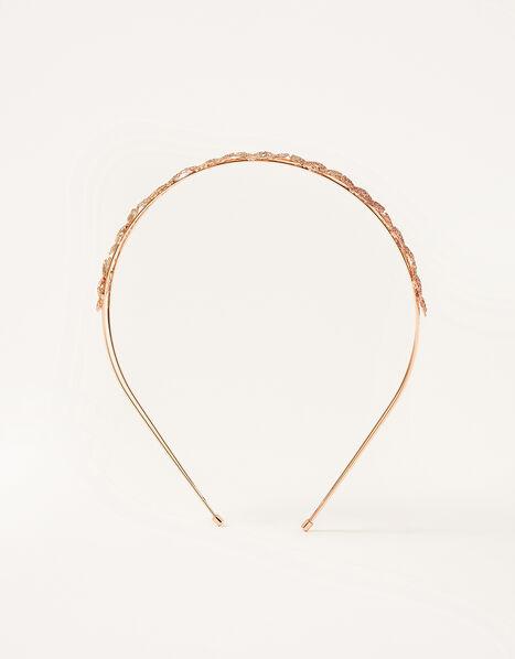 Ombre Glitter Flower Headband, , large