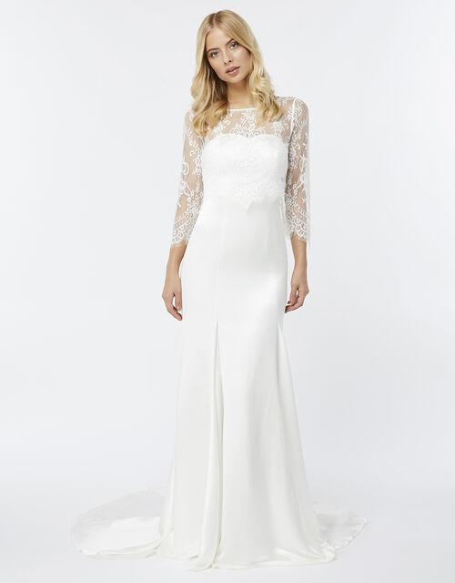 Cynthia Bridal Maxi Dress , Ivory (IVORY), large