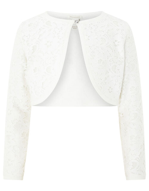 Eliona Cardigan, White (WHITE), large
