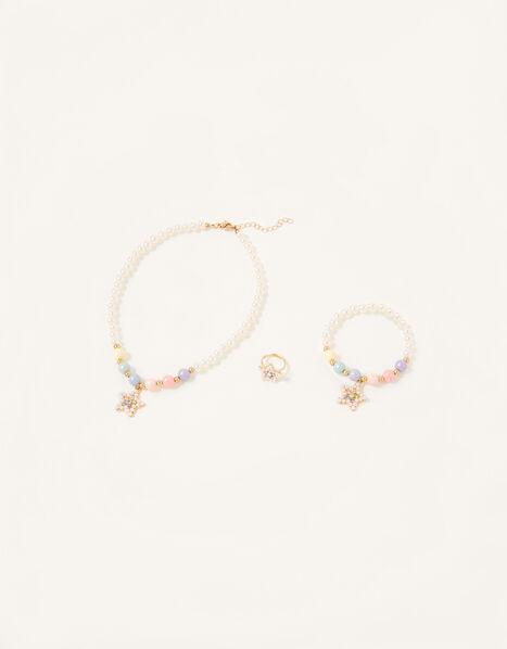 Rainbow Star Jewellery Set, , large