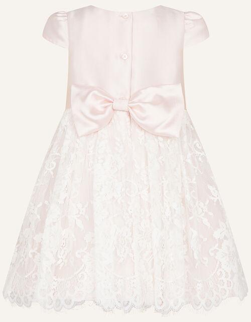 Baby Lace Skirt Bridesmaid Dress, Pink (PINK), large