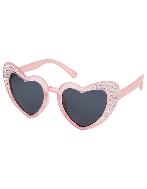 Heart Shape Sparkle Sunglasses, , large