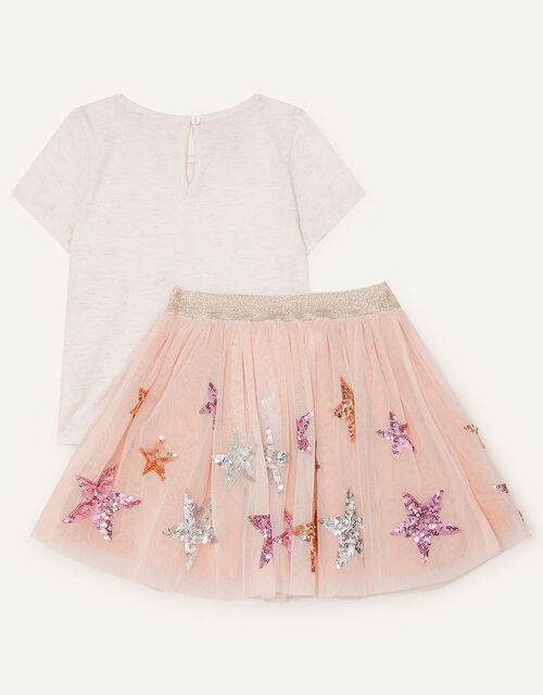 Star Top and Skirt Set, Multi (MULTI), large