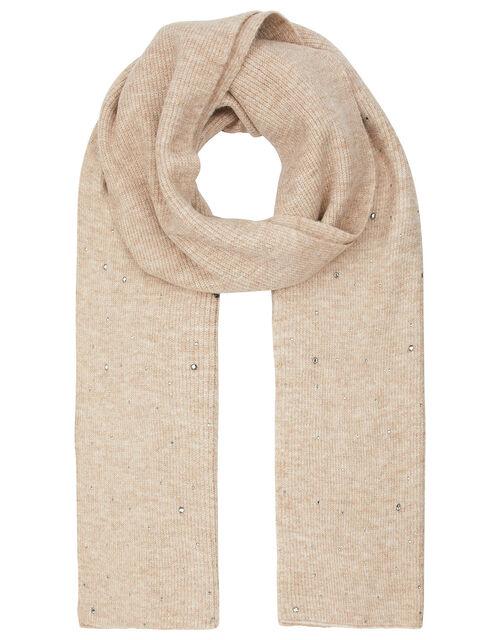 Georgia Gem Knit Scarf, , large