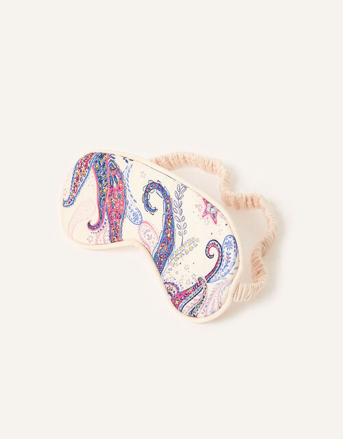 Estelle Paisley Print Eye Mask , , large
