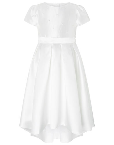 Henrietta Pearl Embellished Dress  White, White (WHITE), large