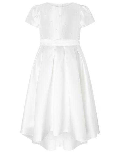 Henrietta Pearl Embellished Dress  White, White (WHITE), large