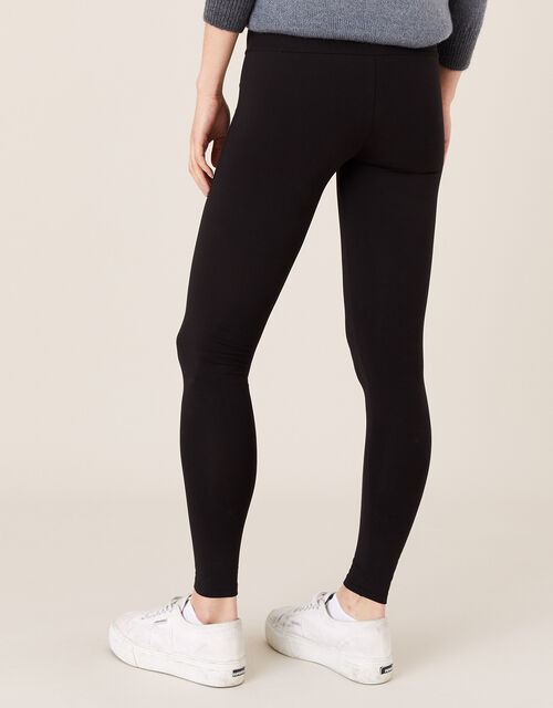 Penelope Jersey Leggings, Black (BLACK), large
