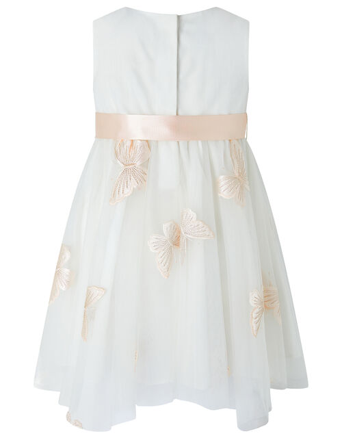 Baby Molly Butterfly Dress, Ivory (IVORY), large