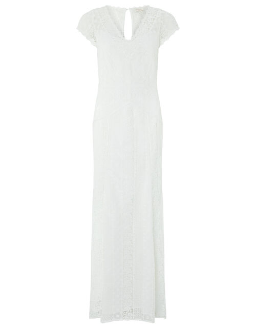 Nellie Bridal Lace Maxi Dress, Ivory (IVORY), large