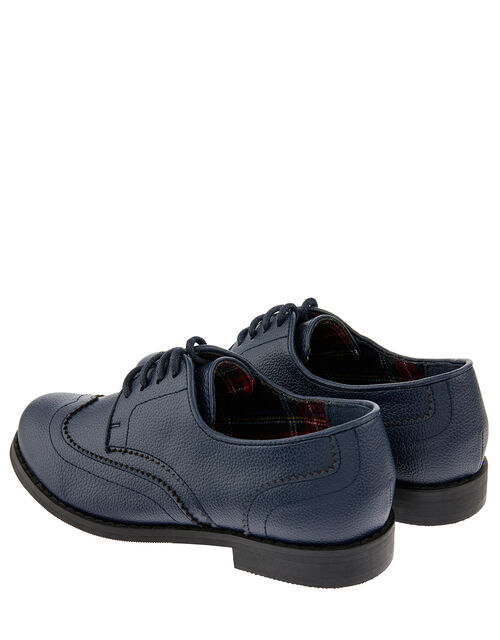 Boys' Oxford Brogue Shoes, Blue (NAVY), large