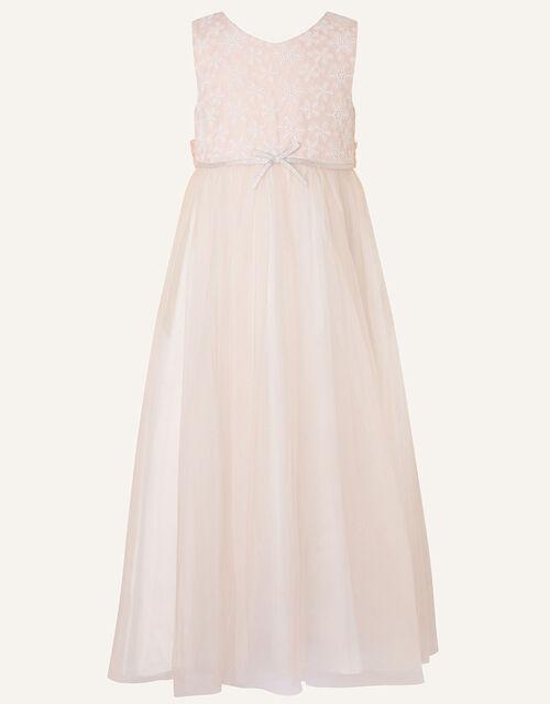 Lace Maxi Dress , Pink (PINK), large