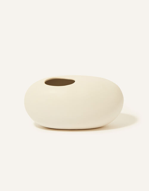 Large Ceramic Pebble Vase, , large
