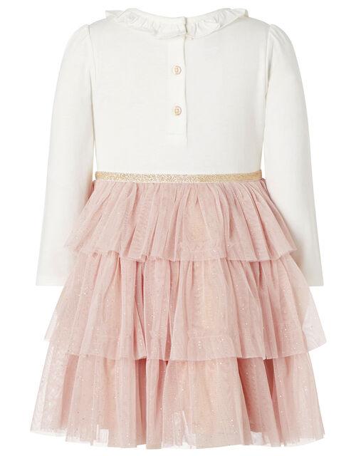 Baby Woodland Animal Disco Dress, Pink (PINK), large