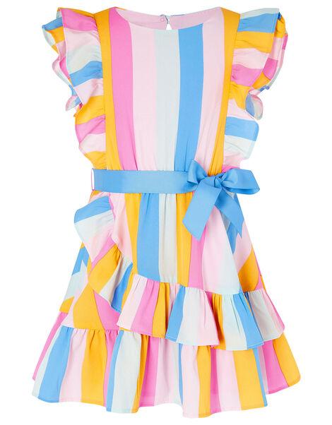Candy Stripe Dress Multi, Multi (MULTI), large