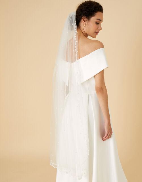 Veera Embellished Veil, , large
