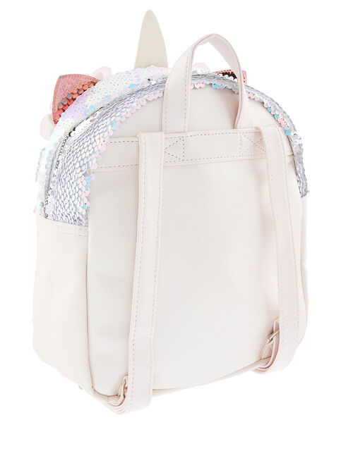 Mirage Sequin Unicorn Backpack, , large