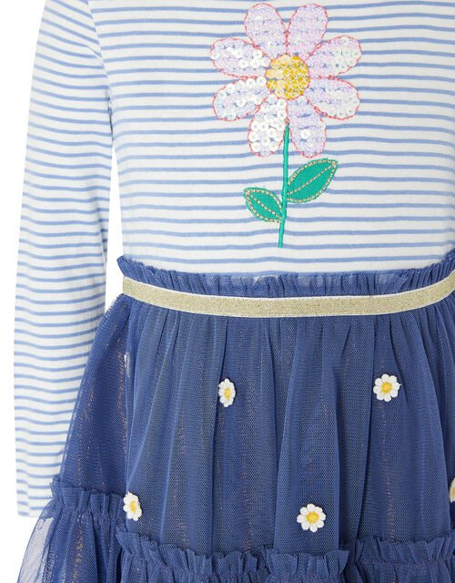 Baby Daisy 2-in-1 Dress , Blue (NAVY), large